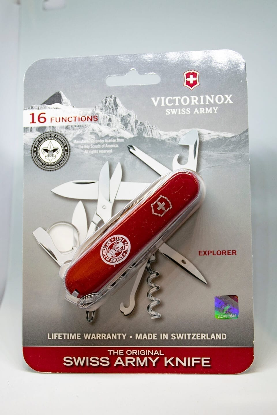Swiss Army Knife Explorer Eagle Scout Boy Scouts Of