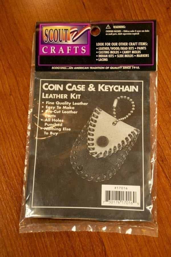 Coin Case and Keychain Kit