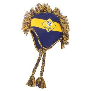 Beaver Boy Scout Knitted Beanie Hat