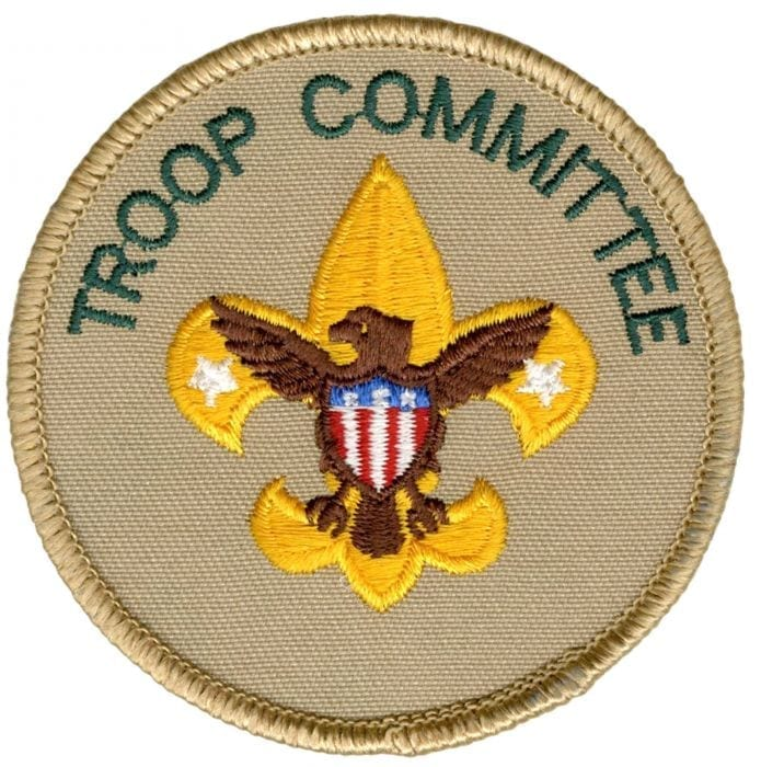 Troop Committee patch - BSA CAC Scout Shop